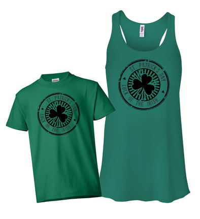 Matching Tank & Shirt - St Patricks Day