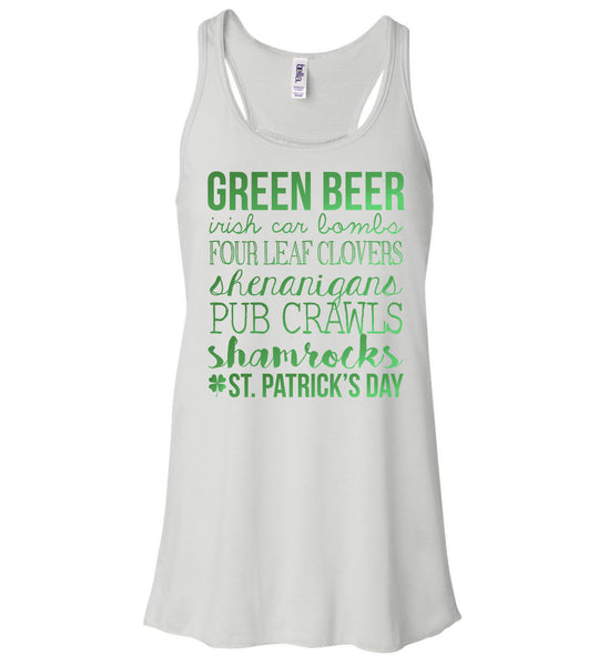 Women's Tank - Green Beer