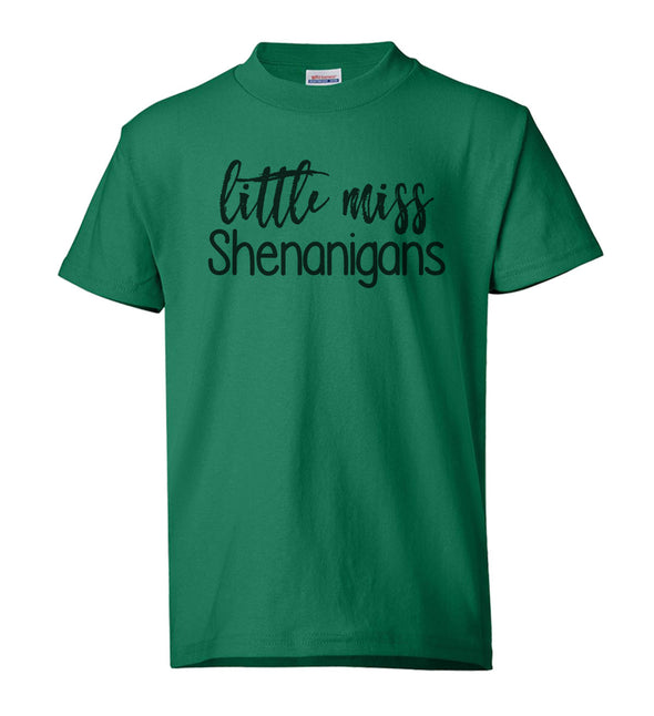 "Youth Shirt - ""Little Miss Shenanigans"""