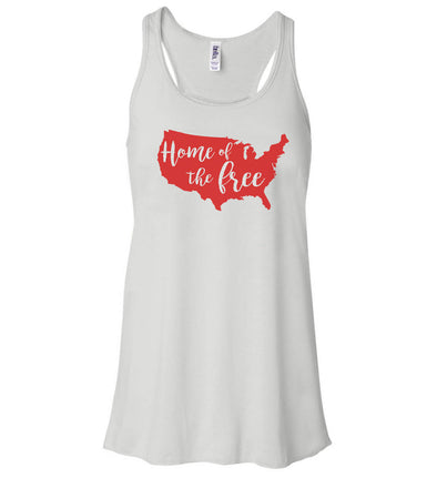 Women's Tank - 4th Of July Home Of The Free