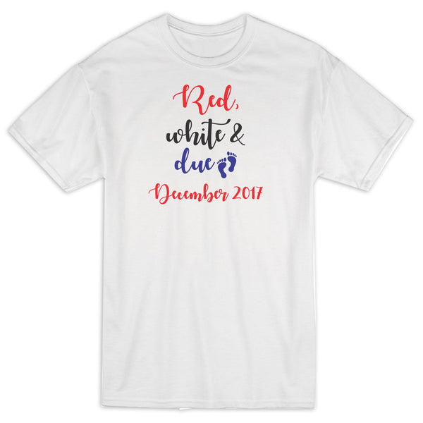 Red White And Due 4th Of July Shirt