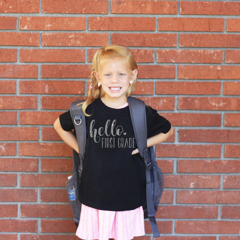 Back To School - Hello Grade Shirt