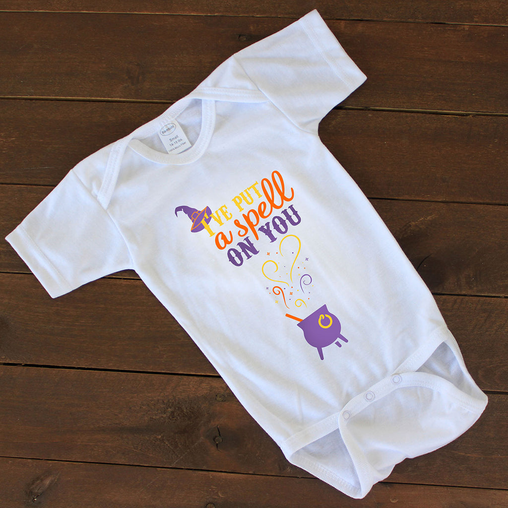 "Baby Onesie - ""Put A Spell On You"""