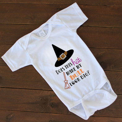 "Baby Onesie - ""Does This Hat?"""