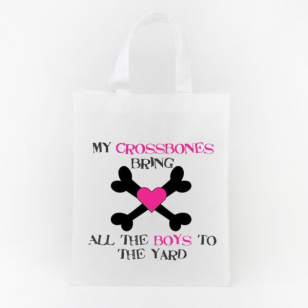 Trick or Treat Bag - My Crossbones Bring the Boys to the Yard