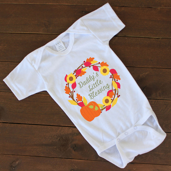 "Baby Onesie - ""Little Blessing"""