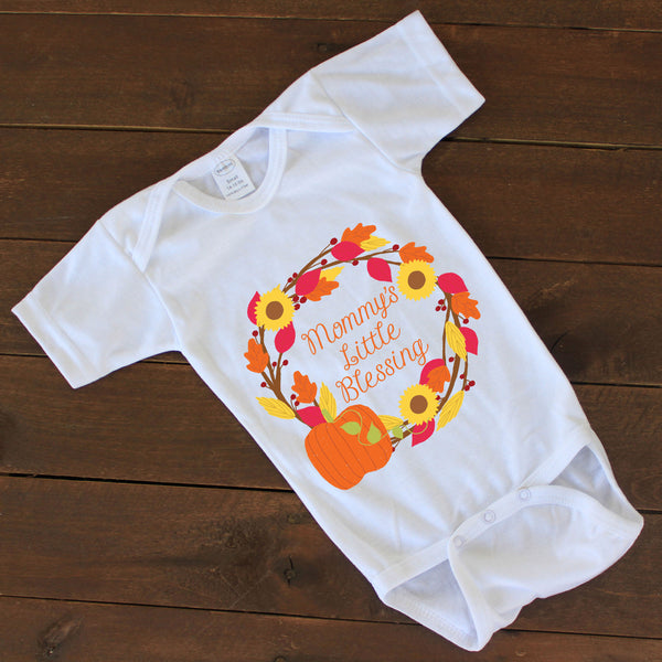 "Baby Onesie - ""Mommy's Little Blessing"""
