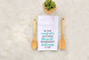 "Tea Towel - ""In The Kitchen Is Love"""