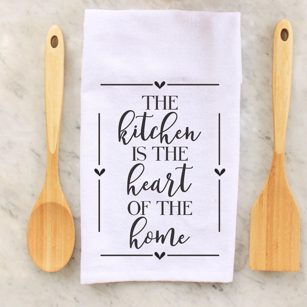 the kitchen is the heart of the home, heart, hearts, seasonal towel, seasonal towels, autumn, kitchen towels, kitchen, decorative towels, Thanksgiving, thanksgiving, personalized towels, personalized towel, custom towel, custom towels, fall, fall towel, fall towels, personalized towel, personalized towels,  personalised towel, personalised towels, housewarming, wedding gift, love