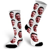 Face Socks, Custom Photo Face Socks, Photo Socks, Picture on a Sock, Personalized Face Socks,