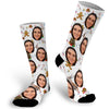 Custom Face Photo Chritsmas Socks