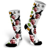 Custom Halloween Face Socks, Halloween Photo Sock, Picture Sock, Face Sock, Picture on Socks