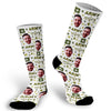 Army Socks, Military Socks, Photo socks for Military, Army Mom Socks, Face Socks, Picture on Socks