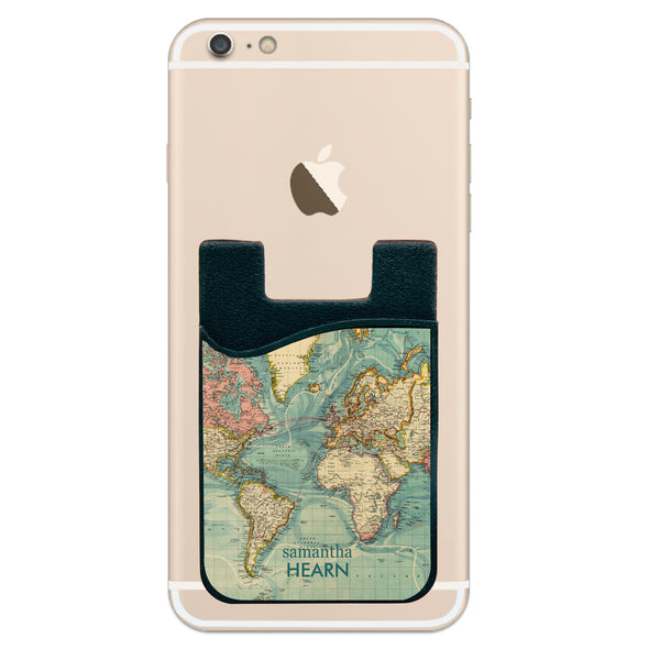 Phone Wallet - Map With Name
