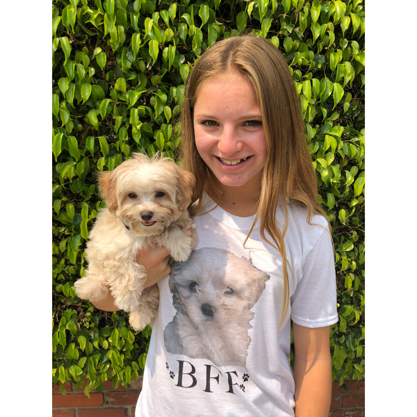 "Personalized Pet Photo Shirt ""BFF"""