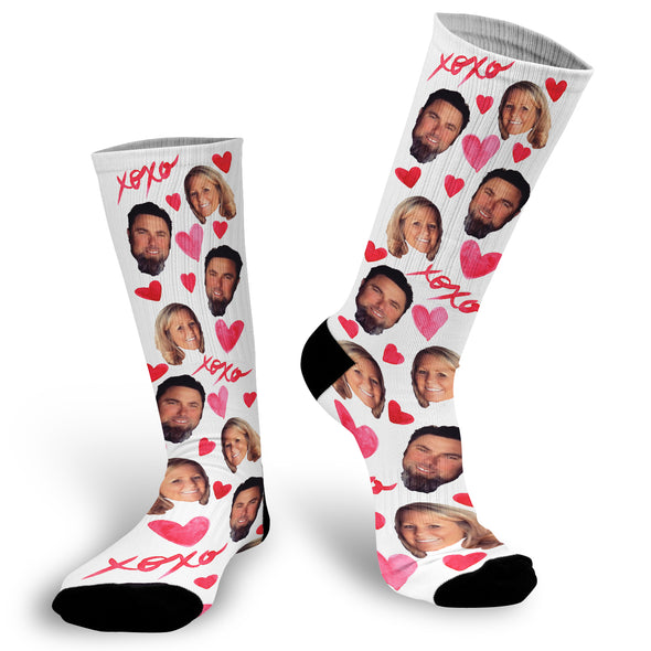 Face Socks make great wedding gifts, anniversary gifts, Christmas gifts, birthday gifts. valentines day, and gifts for the person who has everything with a quick turnaround and fast shipping! Customized Sock, Funny Socks, Socks with Sayings, Gift for Girlfriend, Gift Exchange idea, Personalized Photo socks are a fun wa…