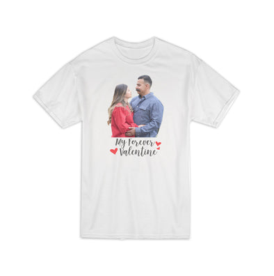 "Personalized ""My Forever Valentine"" Shirt, Custom Shirt, Custom Photo Shirt, Personalized Photo Shirt, Custom T-Shirt, Personalized Shirt, Custom T-Shirt"