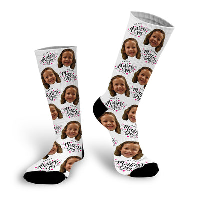 Happy Mother's Day Face Socks