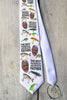 "Photo Tie, Father's Day Tie, Dad Tie, Custom Tie, Personalized Tie ""Best Fisherman"""