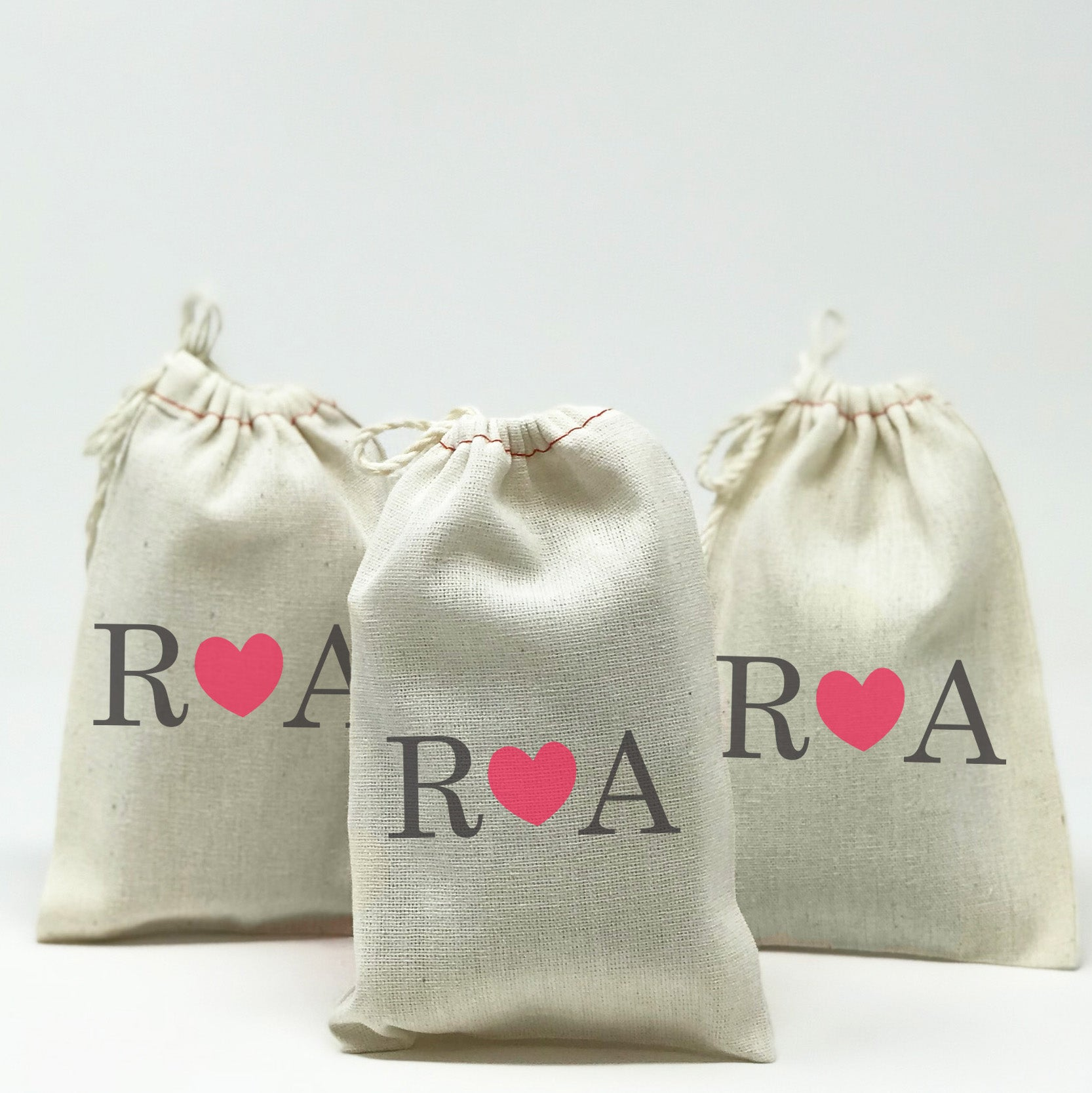 Personalized Favor Bags With Initials – Stamp Out