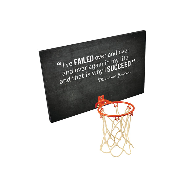 Personalized Basket Ball Backboard With Quote