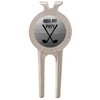Kiss My Putt Funny Ball Marker And Divot Tool