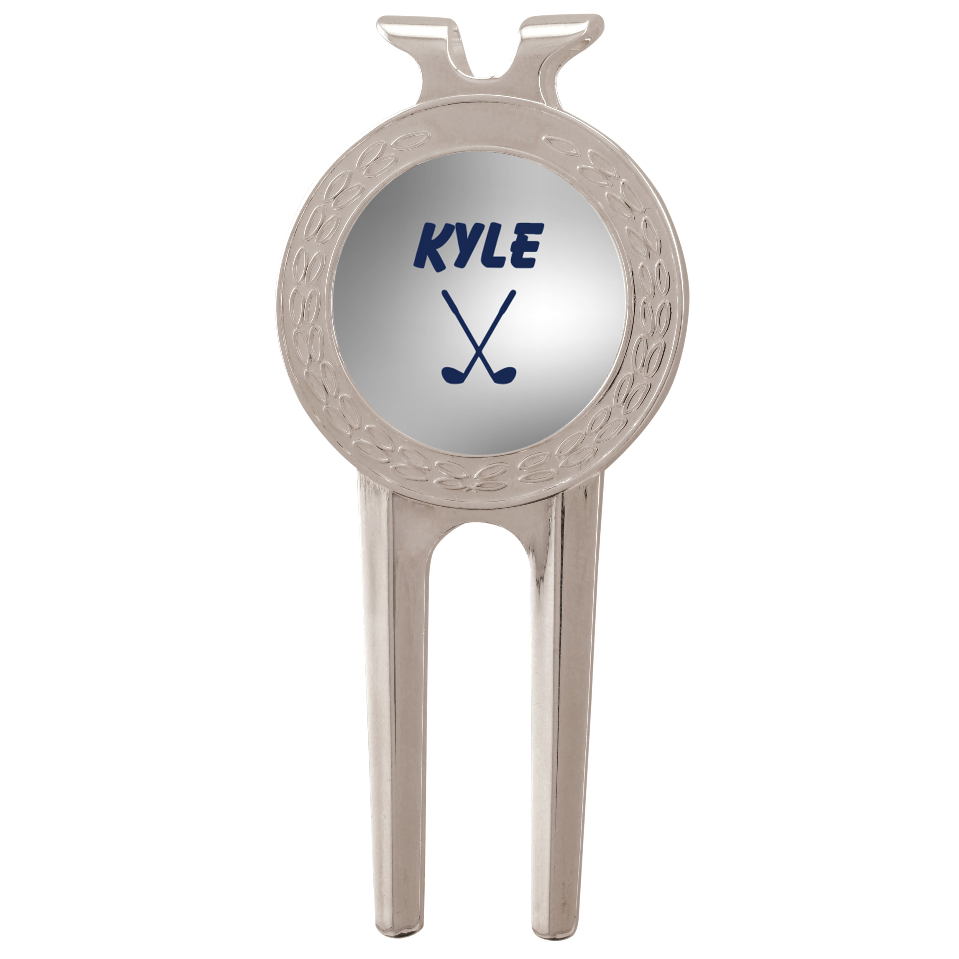 Personalized Golf Marker With Divot Tool Stamp Out