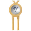Personalized Golf Marker With Divot Tool