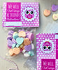 "Valentine Cards with Goodie Bags (Set of 20) - ""We Will Owl Ways Be Friends"""