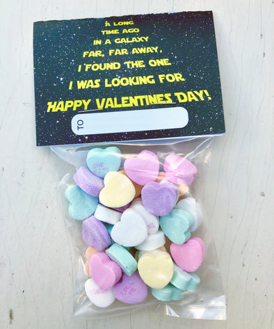 "Valentine Cards with Goodie Bags (Set of 20) - ""Star Wars"""