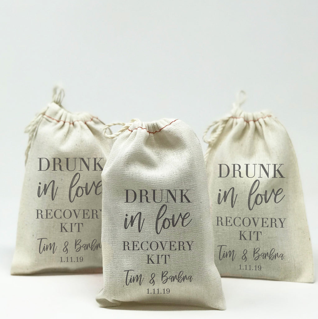 Personalized Drunk In Love Recovery Kit