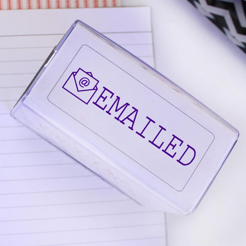 "Rubber Self Inking ""EMAILED"" Stamp"