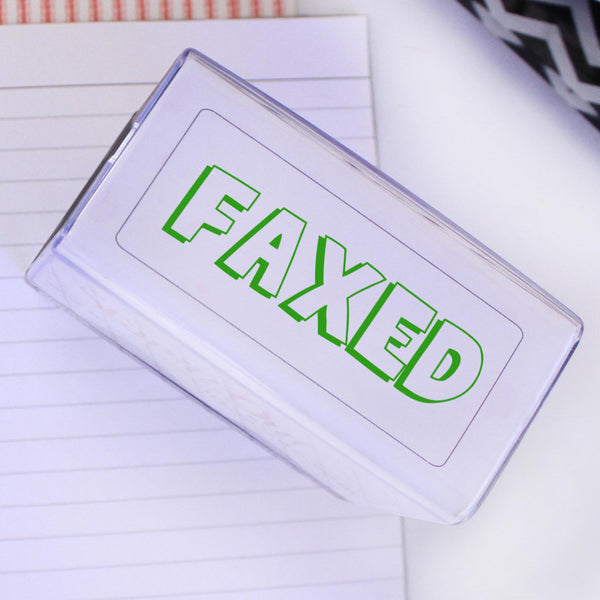 FAXED Stamp Self Inking