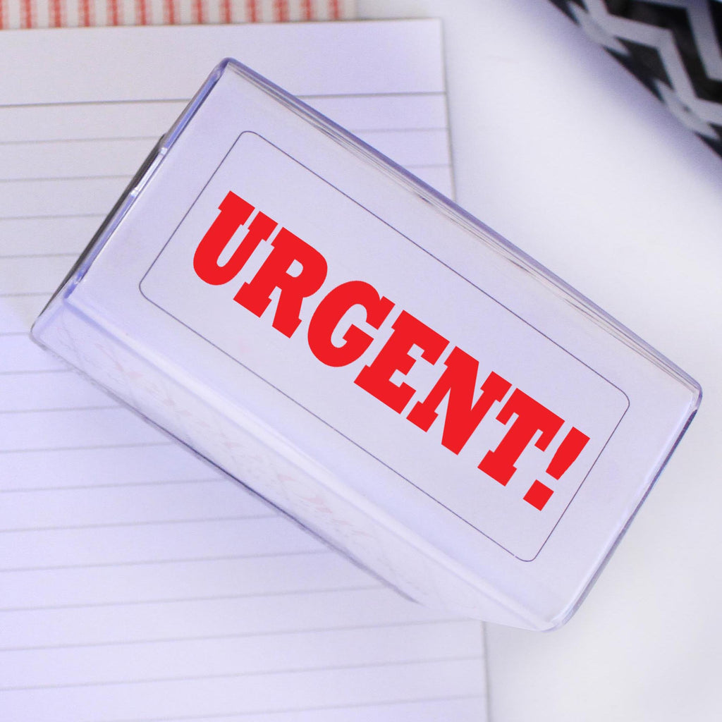 "Stamp Self Inking ""URGENT!"" Stamp"