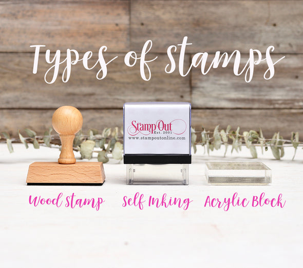 Types of Stamps, Stampers, 3 types of stamps