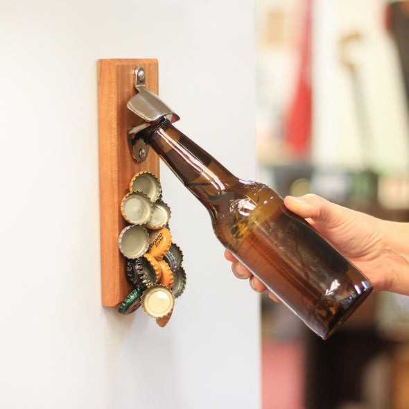 "Magnet Bottle Opener - ""Best Kind Of Beer"""