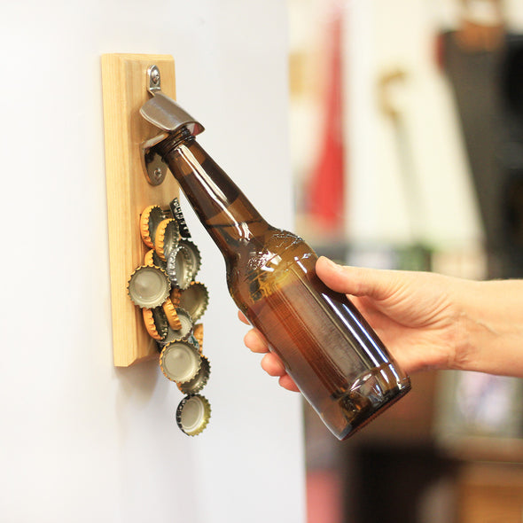 "Magnet Bottle Opener - ""Lets Get Ready To Stumble"""