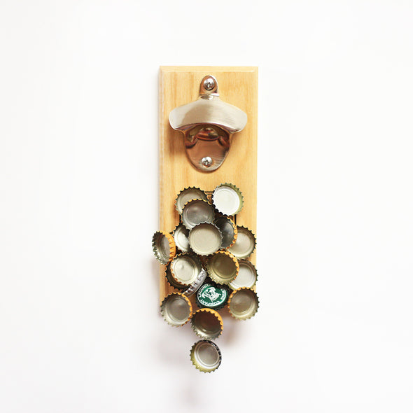 "Magnet Bottle Opener - ""Open Drink Repeat"""