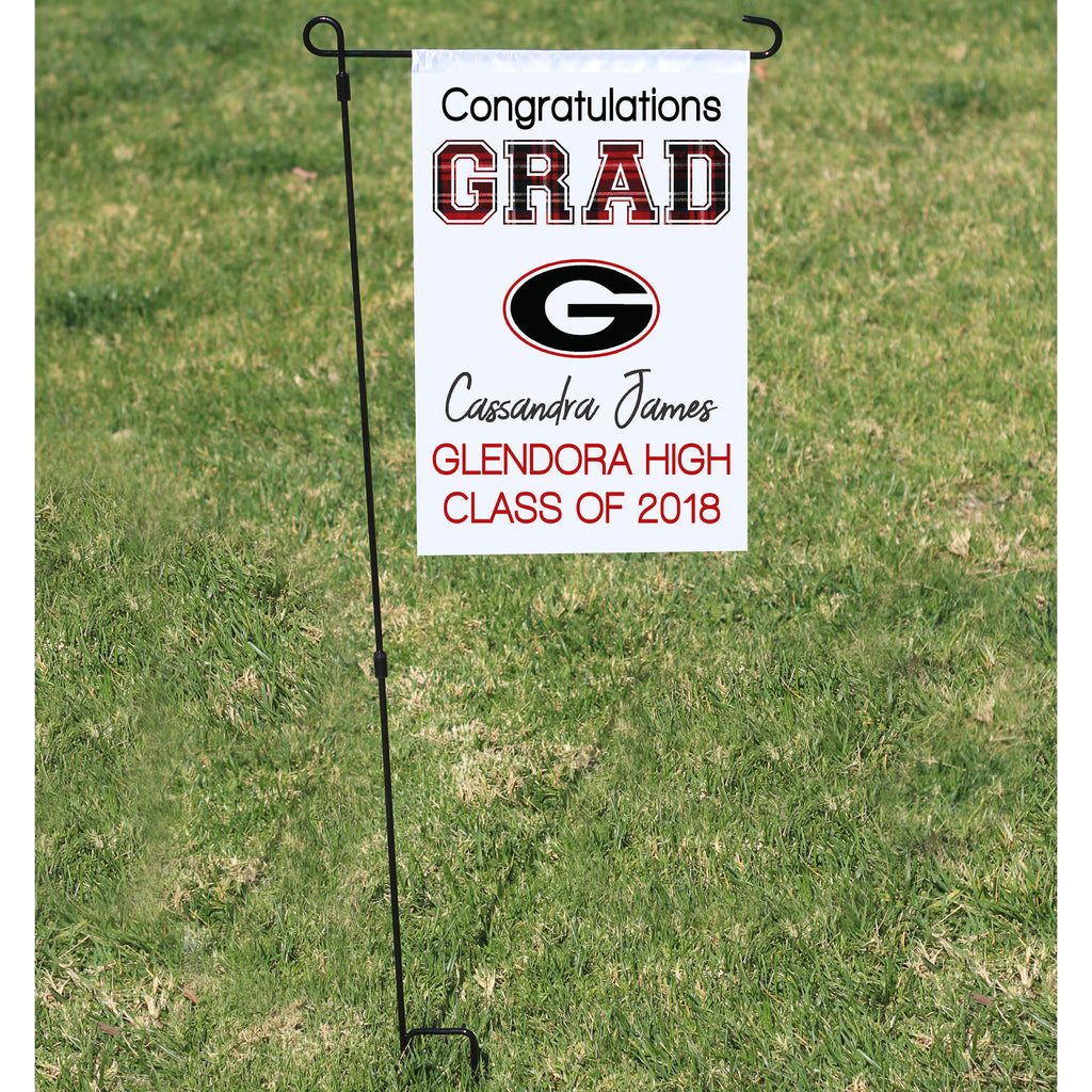 Congratulations High School Graduation Flag