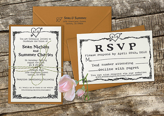 Wedding Stationary Stamps