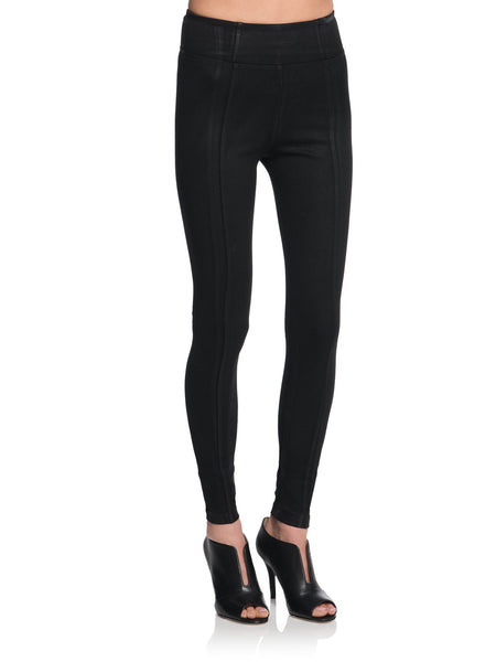 BENJAMIN Wax Coated Basic Leggings