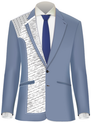 Why Buy a Fully Canvassed Suit? What it means, and how it keeps the glue off of you!