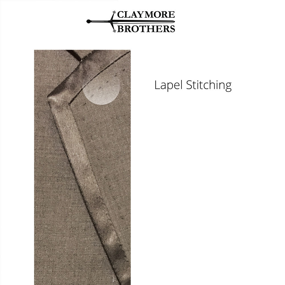 Information to help shopping online for suit lapel stitching