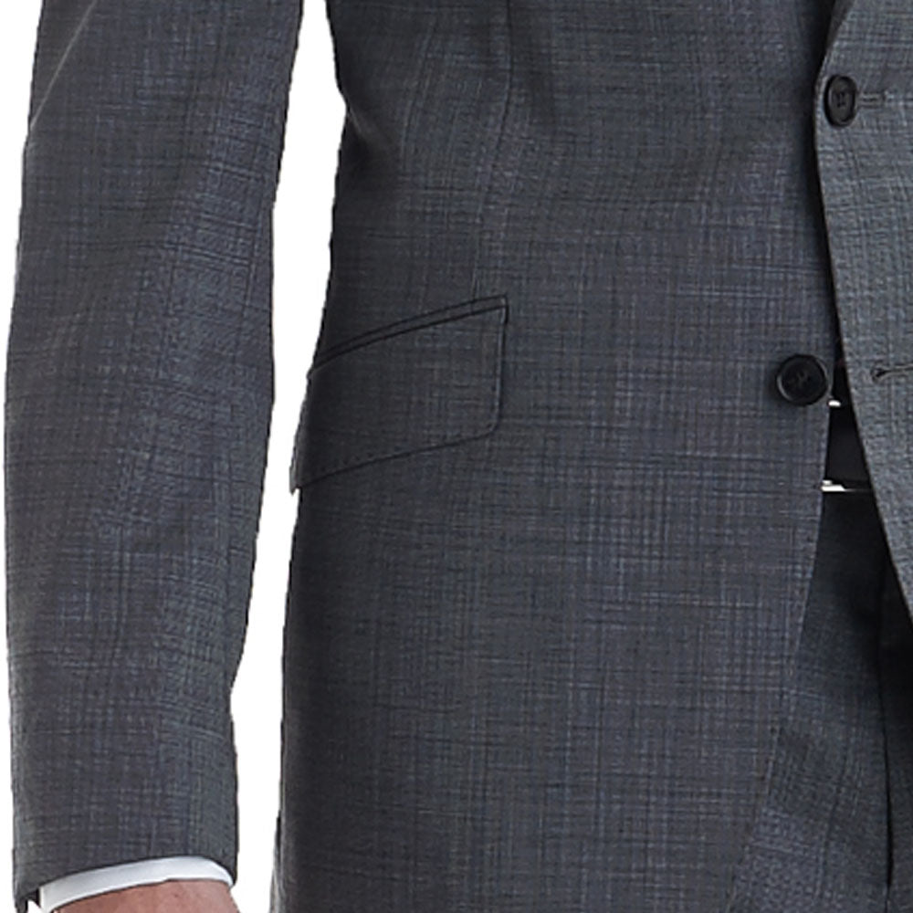 Custom suit jacket pocket angle example image