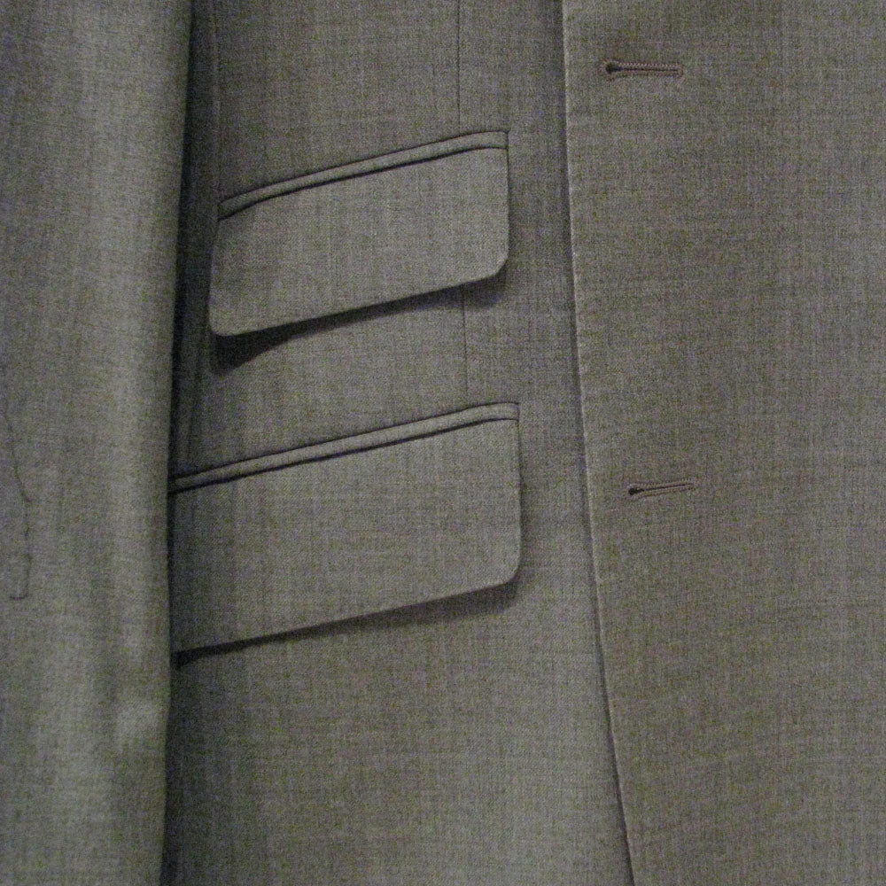 Custom suit ticket pocket example image