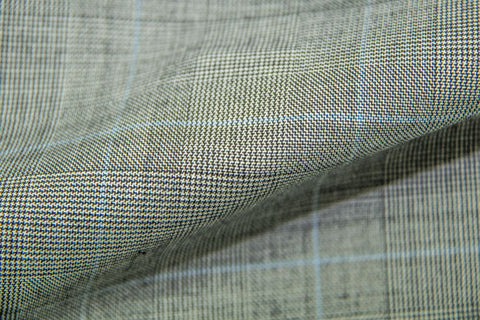 Endeavour Synergy LT GREY TRAM PLAID W/ SKY BLUE CHECK