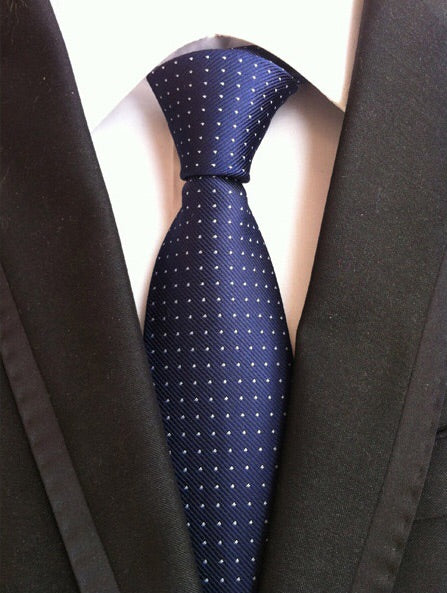 Blue Mini Polka Dot Tie