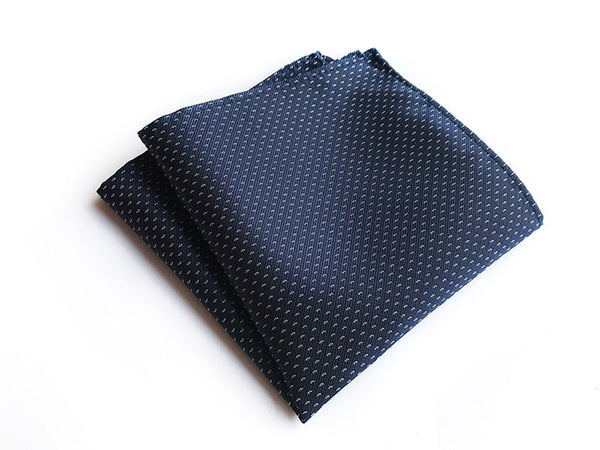 Blue Mini Polka Dot Pocket Square