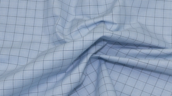 Easy-Iron Poplin Sky Blue