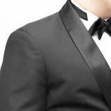 Endeavour Dark Grey Prince of Wales Tuxedo